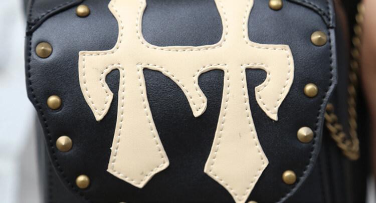 CMX GETFASIONBAGS Flap Waist Bags Unisex Cross Leather Thigh Packs detail 13