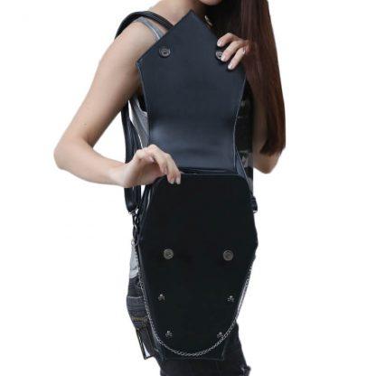CMX GETFASIONBAGS-Gothic-Waist-Bags-Unisex-Hexagon-Leather-Thigh-Packs-3