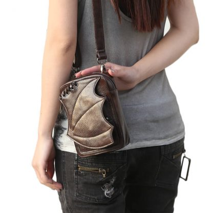 CMX GETFASIONBAGS-Steampunk-Mini-Waist-Bags-Leather-Hip-Thigh-Packs-With-Leg-Holster-Khaki-4