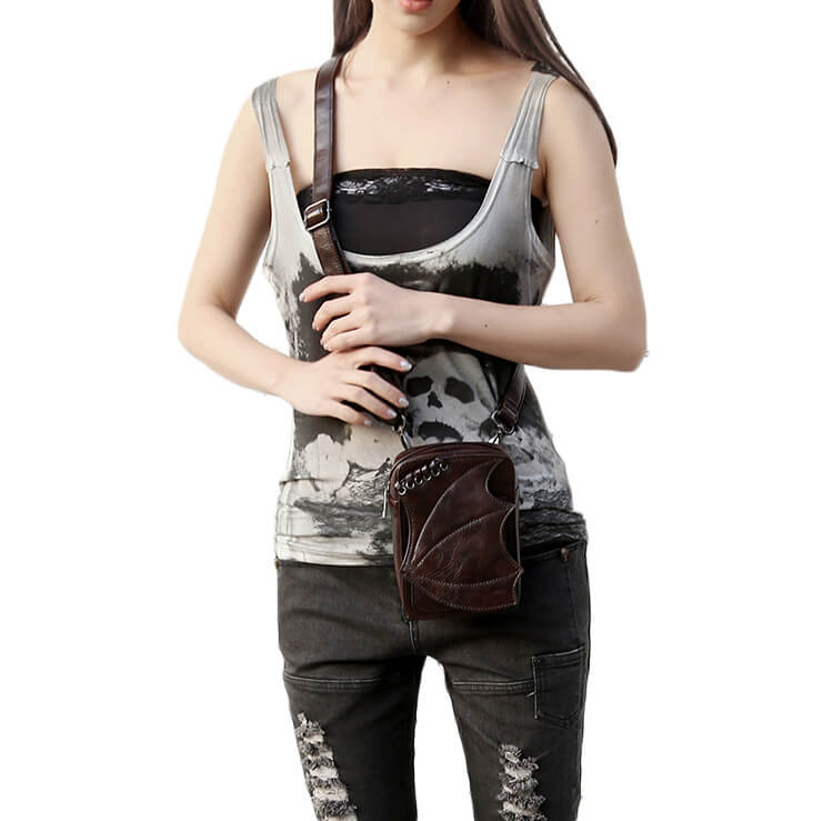 CMX GETFASIONBAGS-Steampunk-Mini-Waist-Bags-Leather-Hip-Thigh-Packs-With-Leg-Holster-Khaki-detail 1