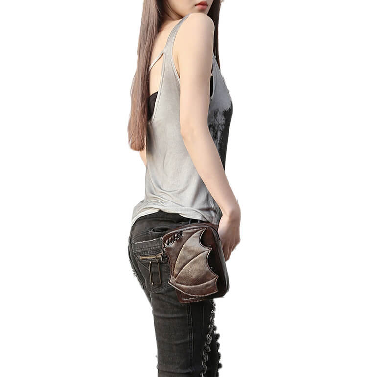 CMX GETFASIONBAGS-Steampunk-Mini-Waist-Bags-Leather-Hip-Thigh-Packs-With-Leg-Holster-Khaki-detail 10
