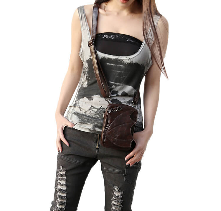 CMX GETFASIONBAGS-Steampunk-Mini-Waist-Bags-Leather-Hip-Thigh-Packs-With-Leg-Holster-Khaki-detail 2
