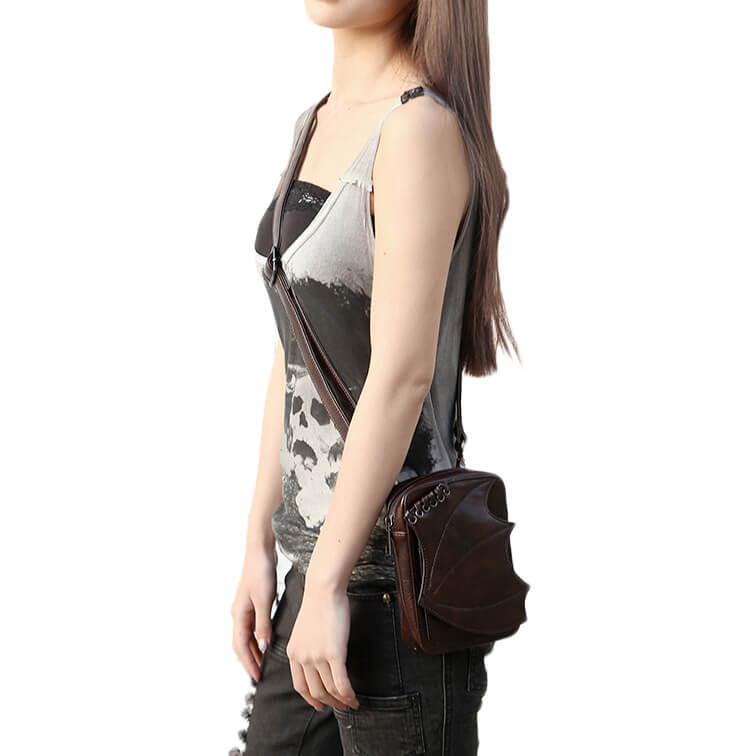 CMX GETFASIONBAGS-Steampunk-Mini-Waist-Bags-Leather-Hip-Thigh-Packs-With-Leg-Holster-Khaki-detail 4