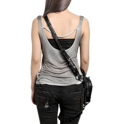 Skull-Leather-HipThigh-Packs-With-Leg-Holster
