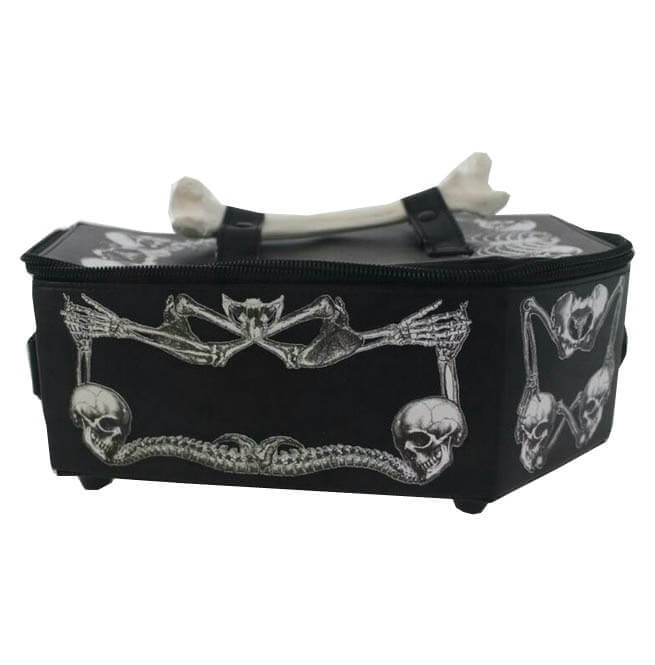 Gothic Harajuku Cosplay Skull Bone Vampire Coffin Bag6