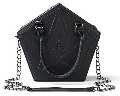 PENTAGRAM PUNK DARKNESS GOTHIC FIVE STAR BAGS 1