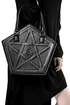PENTAGRAM PUNK DARKNESS GOTHIC FIVE STAR BAGS 3
