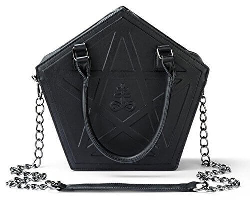 PENTAGRAM PUNK DARKNESS GOTHIC FIVE STAR BAGS detail 1