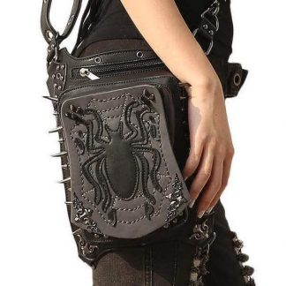 Steampunk Spider Waist Bag main