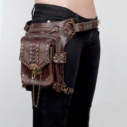 steampunk shoulder holster bag 5