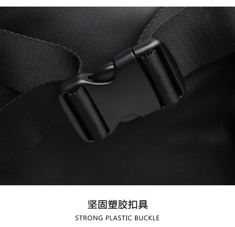 3D skull knife leather backpack rivets skull backpack with Hood cap apparel bag 6