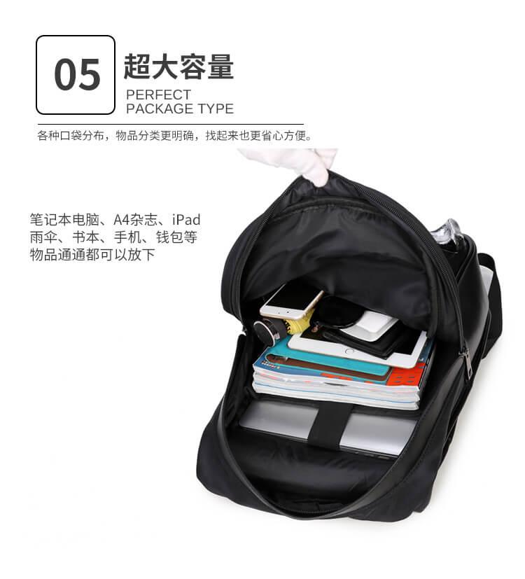3D skull knife leather backpack rivets skull backpack with Hood cap apparel bag 7