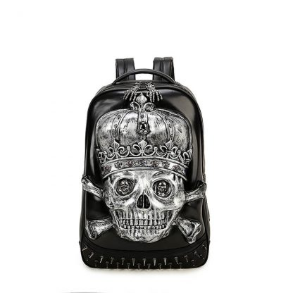 3d-Pu-Leather-Skull-Crown-Backpack-Youth-Fashion-School-Bags-Knapsack-For-Teenage-Boys-Bookbag-Zaino 3