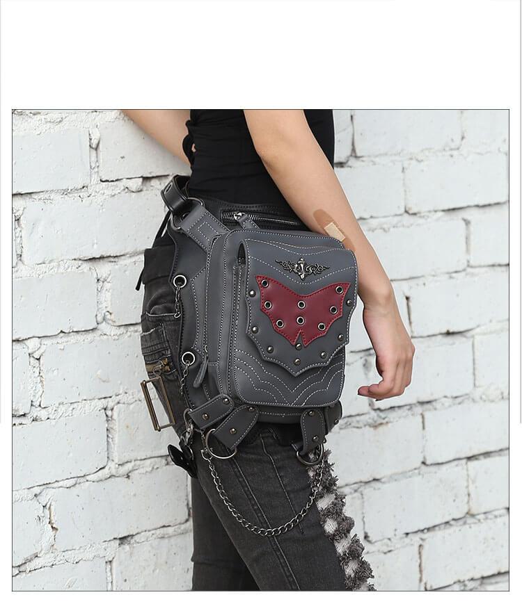 cmx getfashionbags Red Bat Waist Packs detail 1