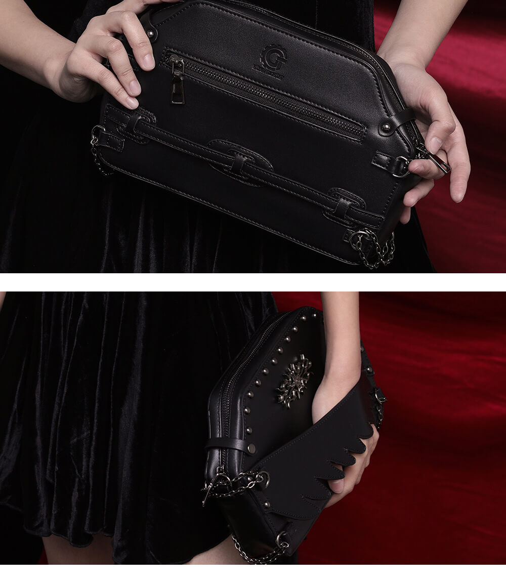 gothic skull handbags 3