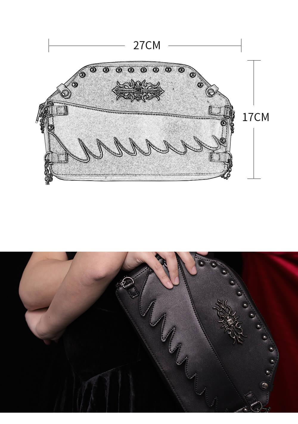 small gothic handbags for women 2