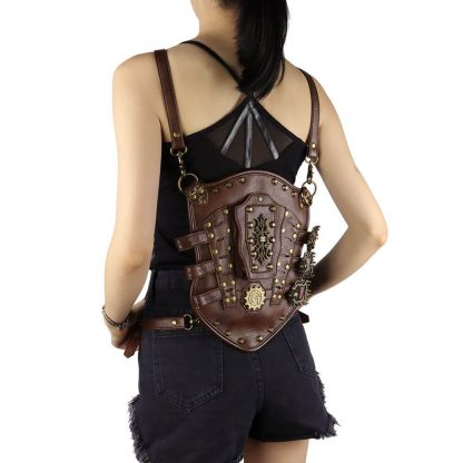 Steampunk Vintage Small Backpack 1