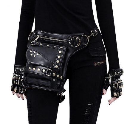 black steampunk waist bags for sale 1