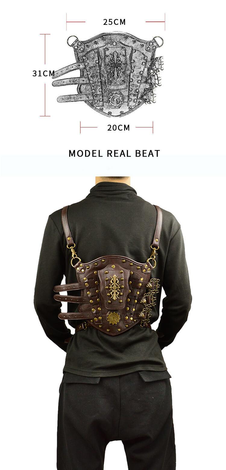punk ariel backpack 1